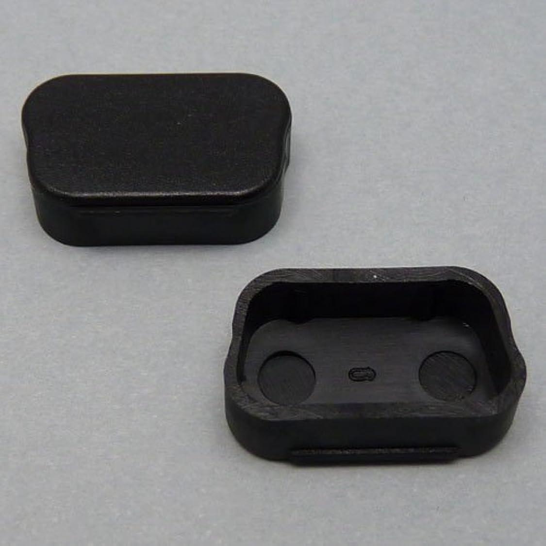 流用する縁石資源テクノベインズ D-Sub 9Pin/Mini 15Pin オス用キャップ(黒) 6個/パック D9MCAPK-B0-6