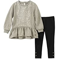 Calvin Klein Girls' Toddler 2 Pieces Tunic Legging Set