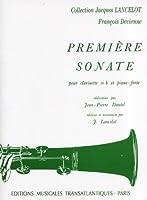 ドヴィエンヌ : ソナタ 第一番 プルミエール・ソナタ (クラリネット、ピアノ) トランスアトランティック出版