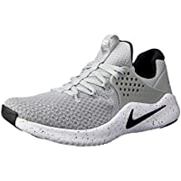 Nike Australia Men's Free TR V8 Training Shoes, Matte Silver/Black-White