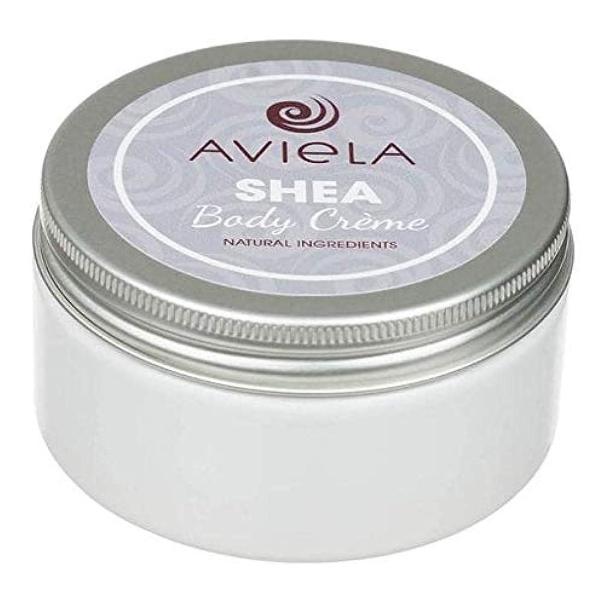 王位囲む剥離[Aviela] Avielaシアボディクリーム200グラム - Aviela Shea Body Creme 200g [並行輸入品]