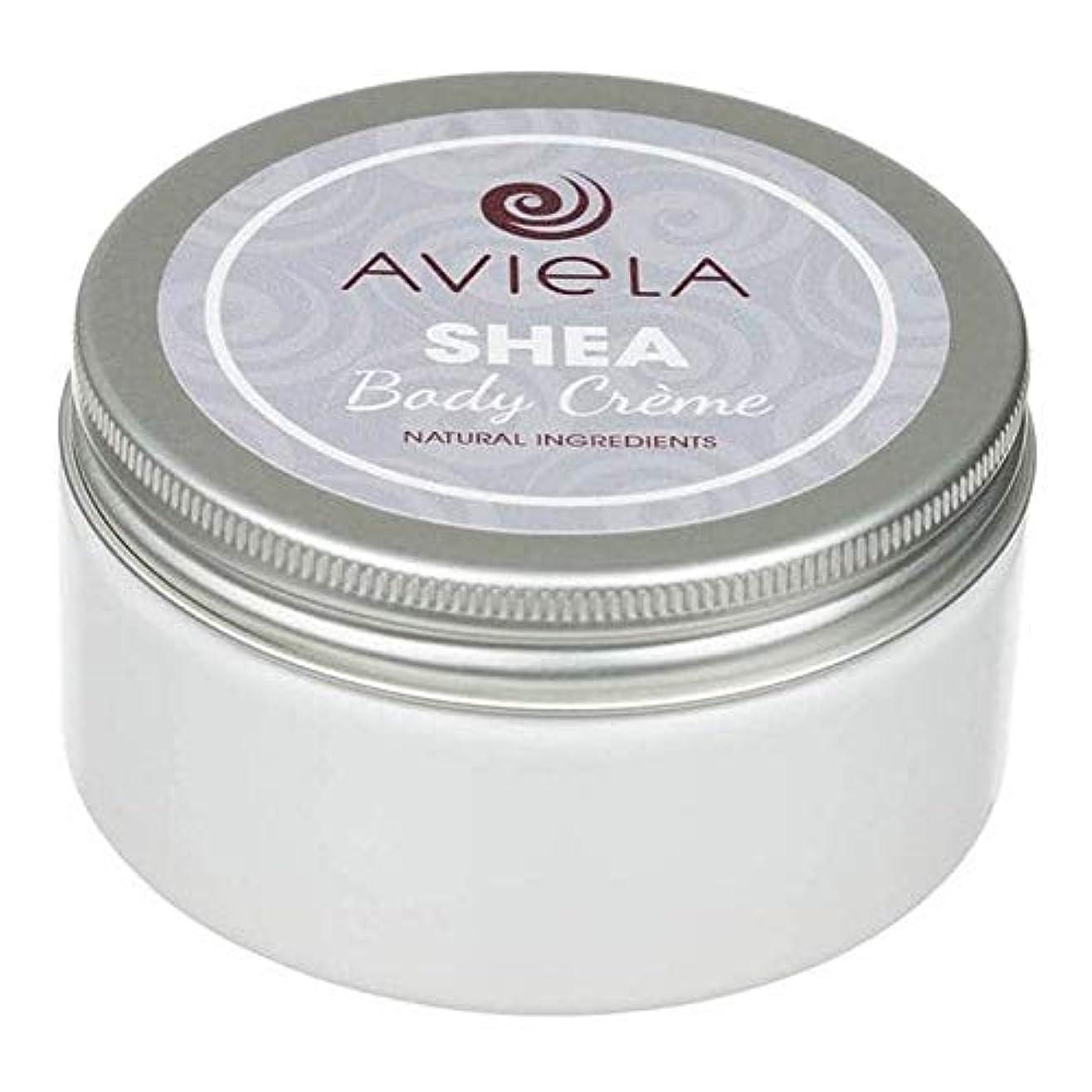 休憩する迫害スタウト[Aviela] Avielaシアボディクリーム200グラム - Aviela Shea Body Creme 200g [並行輸入品]