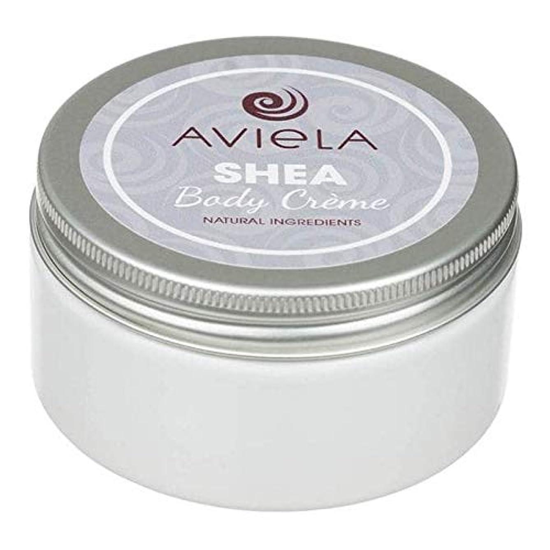 逸脱ほうきトロイの木馬[Aviela] Avielaシアボディクリーム200グラム - Aviela Shea Body Creme 200g [並行輸入品]
