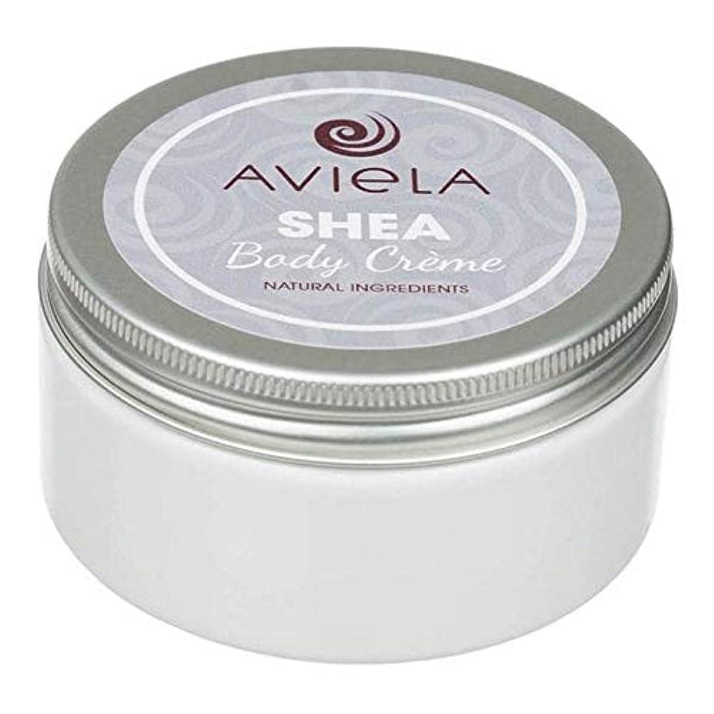 アルコールトリム壮大[Aviela] Avielaシアボディクリーム200グラム - Aviela Shea Body Creme 200g [並行輸入品]