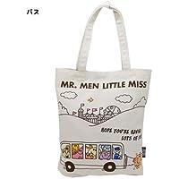 MR.MEN LITTLE MISS 帆布お出かけトート バス