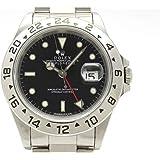 (ロレックス)ROLEX 腕時計 エクスプローラー2 トリチウム シングルバックル SS 16570(W) メンズ 中古