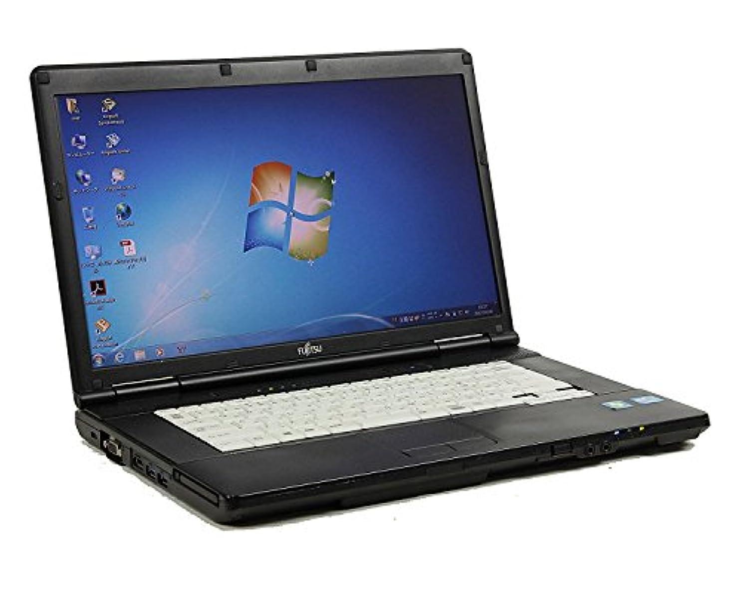 ディスパッチベッド敬の念[ 中古ノートパソコン / Microsoft Office Personal 2010 ] 富士通 LIFEBOOK A572/F Windows7 15.6インチ Core i5 3320M 2.6GHz メモリ4GB HDD320GB [ DVDマルチドライブ ]