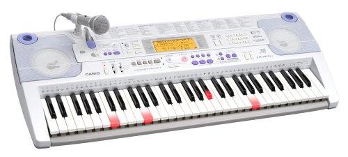 CASIO 光ナビゲーションキーボード 61鍵 標準ピアノ形状鍵盤 LK-203TV