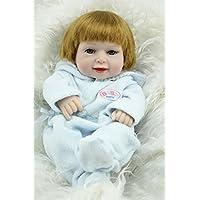 Nicery 生まれ変わった赤ちゃん人形おもちゃハードシミュレーションシリコンビニール11インチ28cm防水おもちゃとギフト Reborn Baby Doll RD28B007B