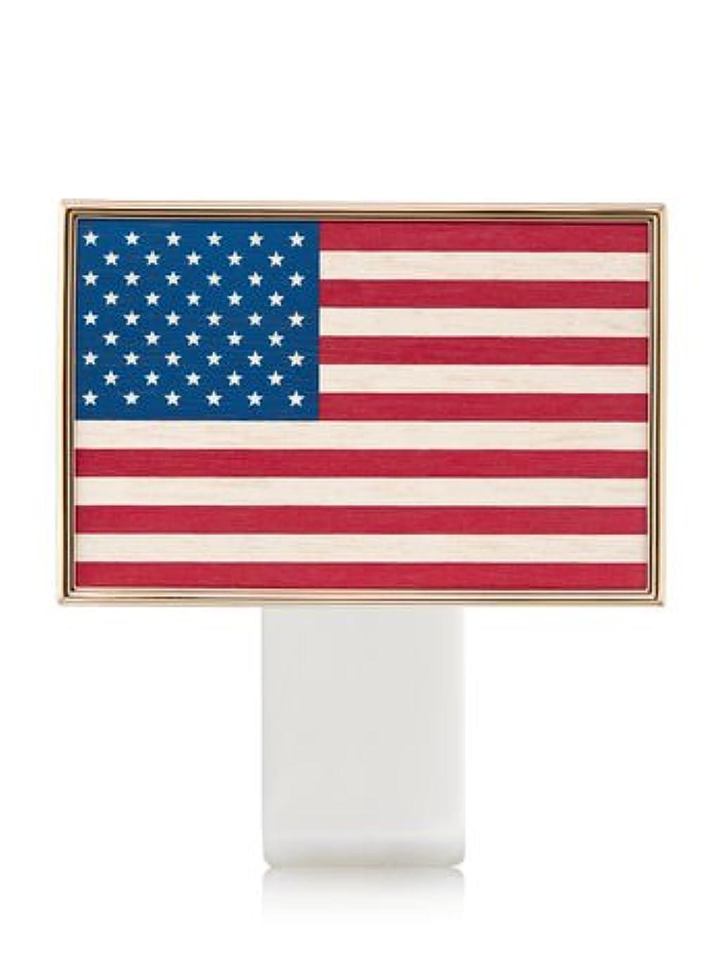 ホバー橋リンス【Bath&Body Works/バス&ボディワークス】 ルームフレグランス プラグインスターター (本体のみ) アメリカンフラッグ Wallflowers Fragrance Plug American Flag [並行輸入品]