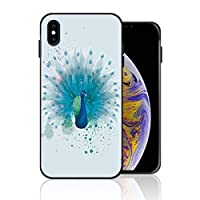 iPhone 7 Plus/8 Plus 携帯ケース 孔雀 水彩画 ケース 最新製品 防塵 軽量 薄型 擦り傷防止 耐衝撃 全機種対応 スマホ用 ソフトケース 防塵 シリコン 人気 バンパーケース スリム設計 携帯カバー