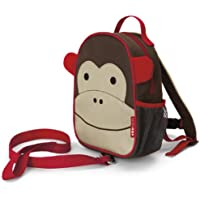 Skip Hop Zoo Let Mini Backpack with Rein, Monkey