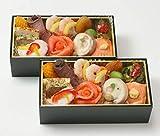 美食良菜 洋風 おせち料理 2020 個食おせち 麗香 二段重 15品 冷凍おせち 2人前 お届け日:12月30日