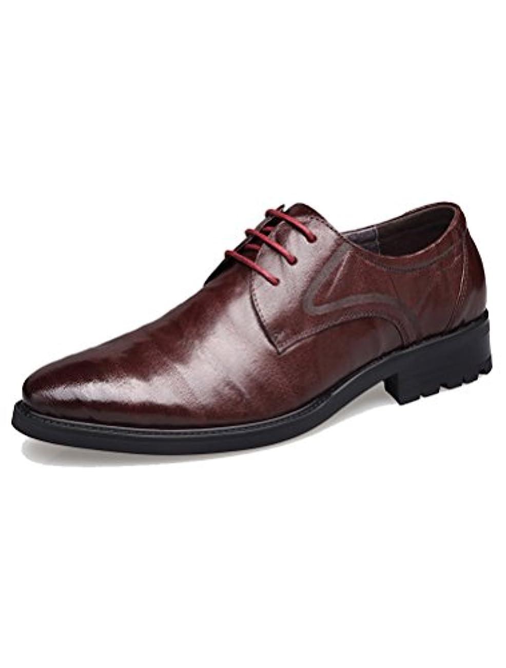 処方矢じり群がる(モダンミス)Mordenmiss メンズ ビジネスシューズ 紳士靴 革靴 本革 内羽根 ストレートチップ ウイングチップ ブラック ブラウン 38-44サイズ 24CM-27CM