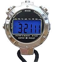 LAOPAO 金属のストップウォッチ審判員タイマー1/100秒の測定夜の光7色を変更することができますライフ防水高精度【日本語説明書あり 】