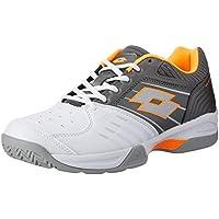 Lotto Men's T Tour 600 X Tennis Shoes, White
