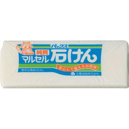 パックス 純マルセル (食器洗い・洗濯用固形石けん) 500g