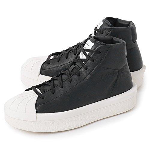 adidas by RICK OWENS アディダス バイ リックオウエンス コラボ RW17F8821 CQ1848 スニーカー ミッドカット シューズ カラー911/BLACK-MILK 911/BLACK-MILK 8.5 [並行輸入品]