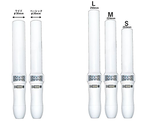 MIX PENLa (ミックス ペンラ) HB 24色 単4電池式 ペンライト ワイド キラキラ Mサイズ