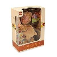 アンGeddes 579103赤ちゃんキャラメルベア9インチ人形 - 豆いっぱいソフトボディコレクション