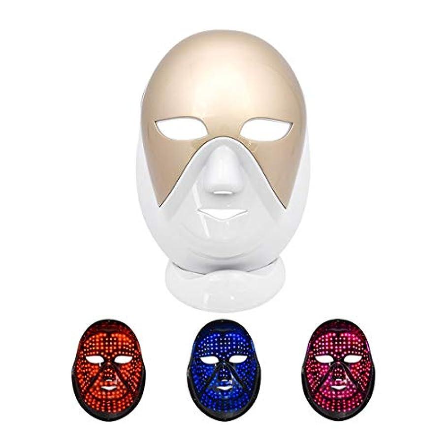 カストディアン呼び出すオンフォトン肌の若返り機器、家庭用スペクトロメータは、しわの取り外しアンチエイジング美容機器フェイススキンケアにきびLEDマスク