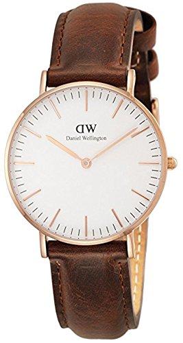 [ダニエル ウェリントン]Daniel Wellington 36mm メンズ レディース 腕時計 男女兼用 レザー アナログ 0507DW [並行輸入品]
