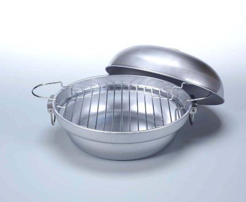 キャプテンスタッグ バーベキュー BBQ用 大型燻製鍋 スモーク対応M-6548