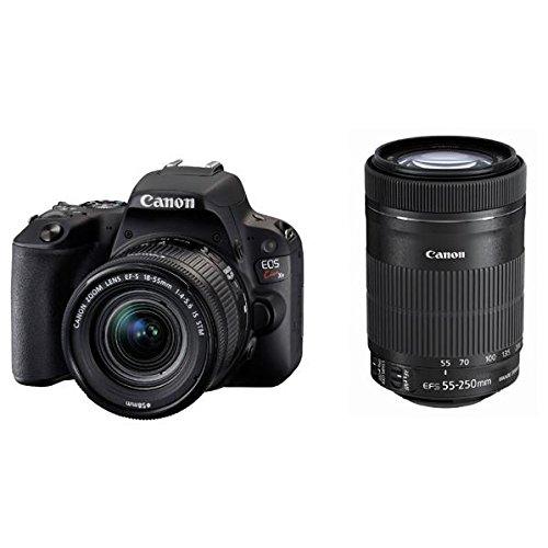 キヤノン デジタル一眼レフカメラ「EOS Kiss X9」ダブルズームキット (ブラック) EOSKISSX9BK-WKIT