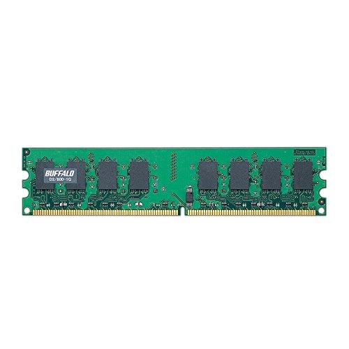 D2/800-1G PC2ー6400(DDR2ー800)対応 DDR2 SDRAM 240Pin用 DIMM 1GB 1式