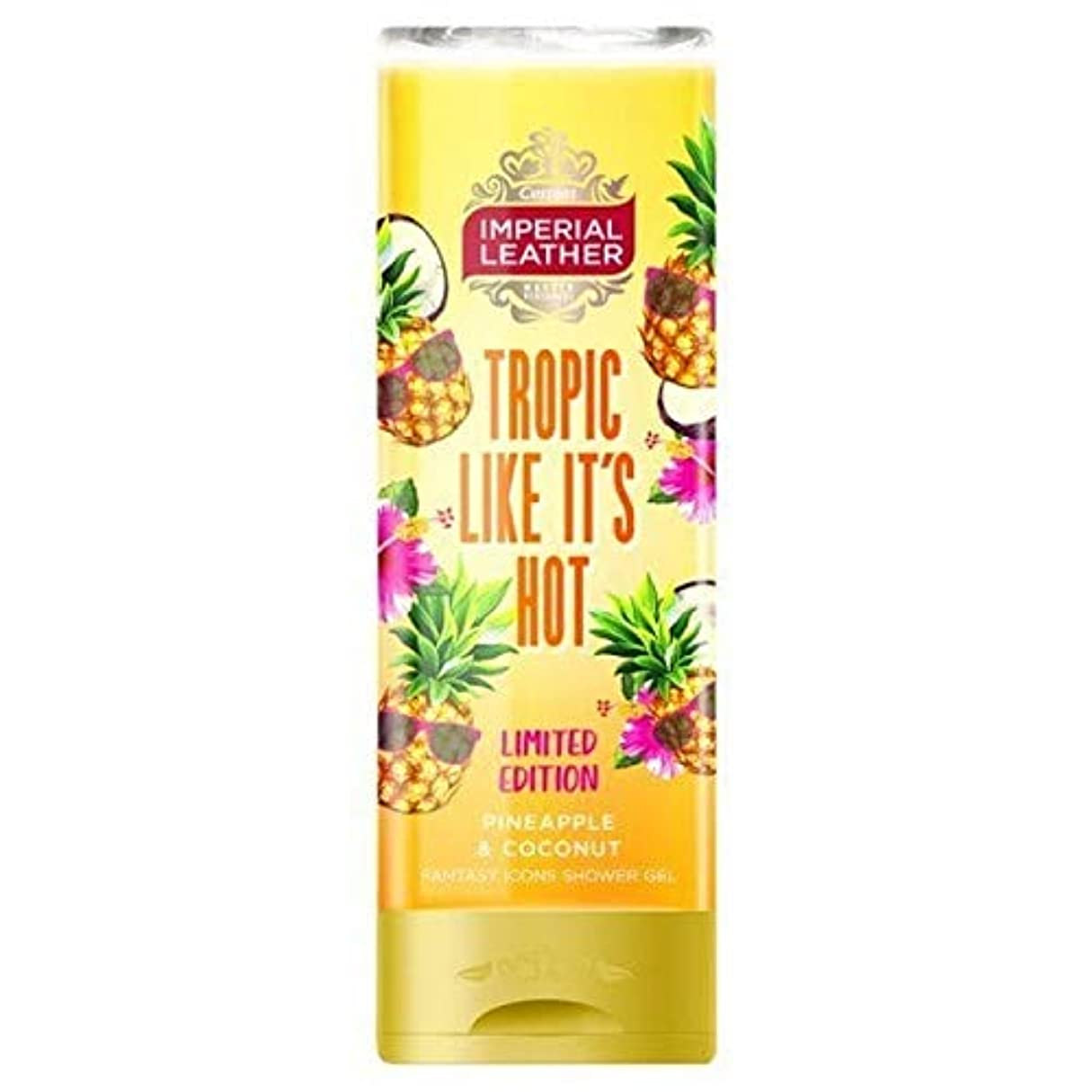 [Imperial Leather ] その熱いシャワージェル250ミリリットルのような帝国トロピック - Imperial Tropic Like its Hot Shower Gel 250ml [並行輸入品]