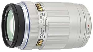 OLYMPUS 超望遠ズームレンズ M.ZUIKO DIGITAL ED 75-300mm F4.8-6.7 シルバー