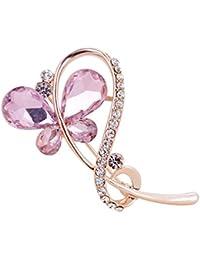 PINKING ブローチ 蝶 ファッション 絶妙 ショールバックル ピン キラキラ 人気 おしゃれ アクセサリー ジュエリー 贈り物