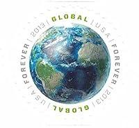 USPS Global Forever Sheet 20 - Earth Stamps (original global forever stamps) [並行輸入品]