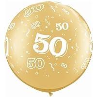 Age 50-a-round 50th誕生日/記念ゴールド30