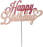 ケーキトッパー Happy Birthday(ピンク) お誕生日 お祝い SBP-006