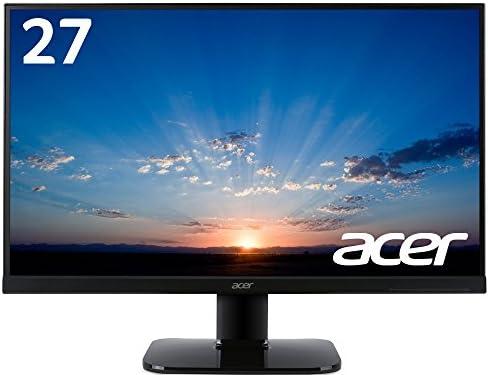Acerモニター ディスプレイ KA270HAbmidx 27インチ/フレームレス/VA/HDMI端子対応/スピーカー内蔵/ブルーライト軽減