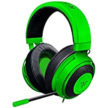 Razer Kraken Pro V2 - Oval Ear Cushions - Analog Gaming Headset for PC, Xbox One, Playstation 4, and Nintendo Switch - Green