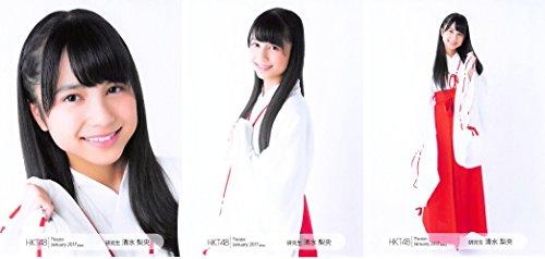 【清水梨央】 公式生写真 HKT48 Theater 201...
