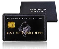 金運アップ DARK MATTER BLACK CARD 開運 出世 成功 金運