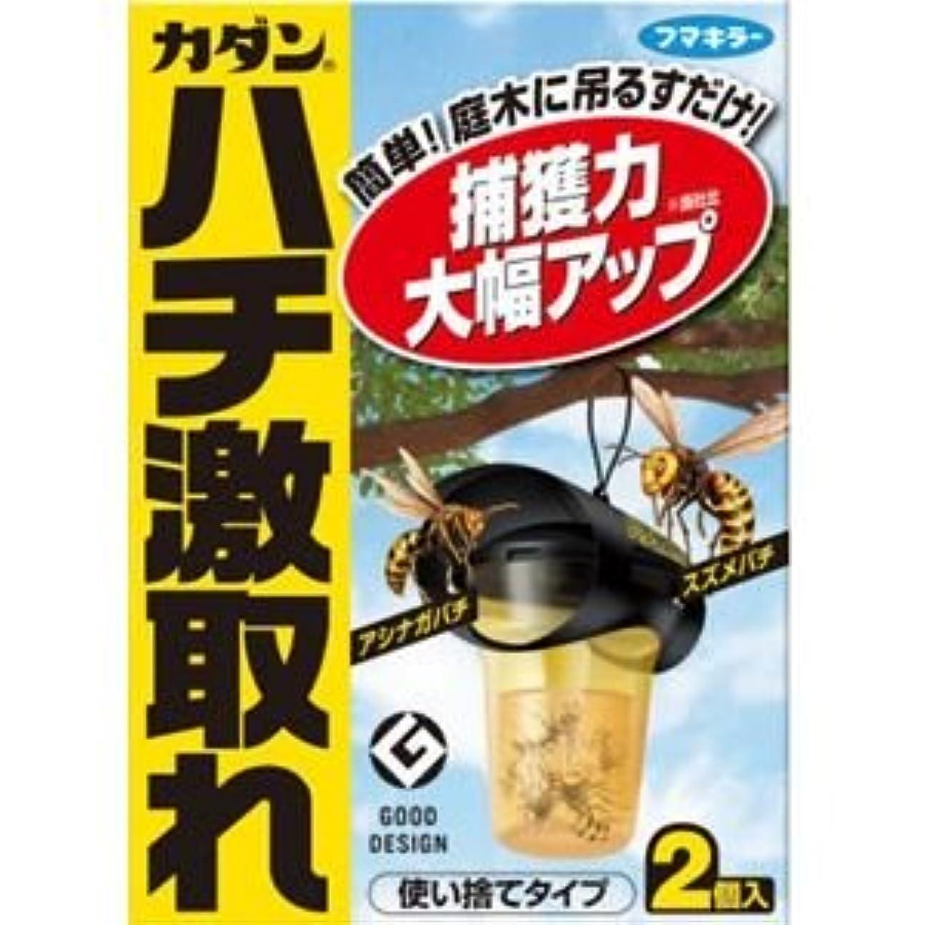 (まとめ)フマキラー株式会社 カダンハチ激取れ2個入り 【×3点セット】