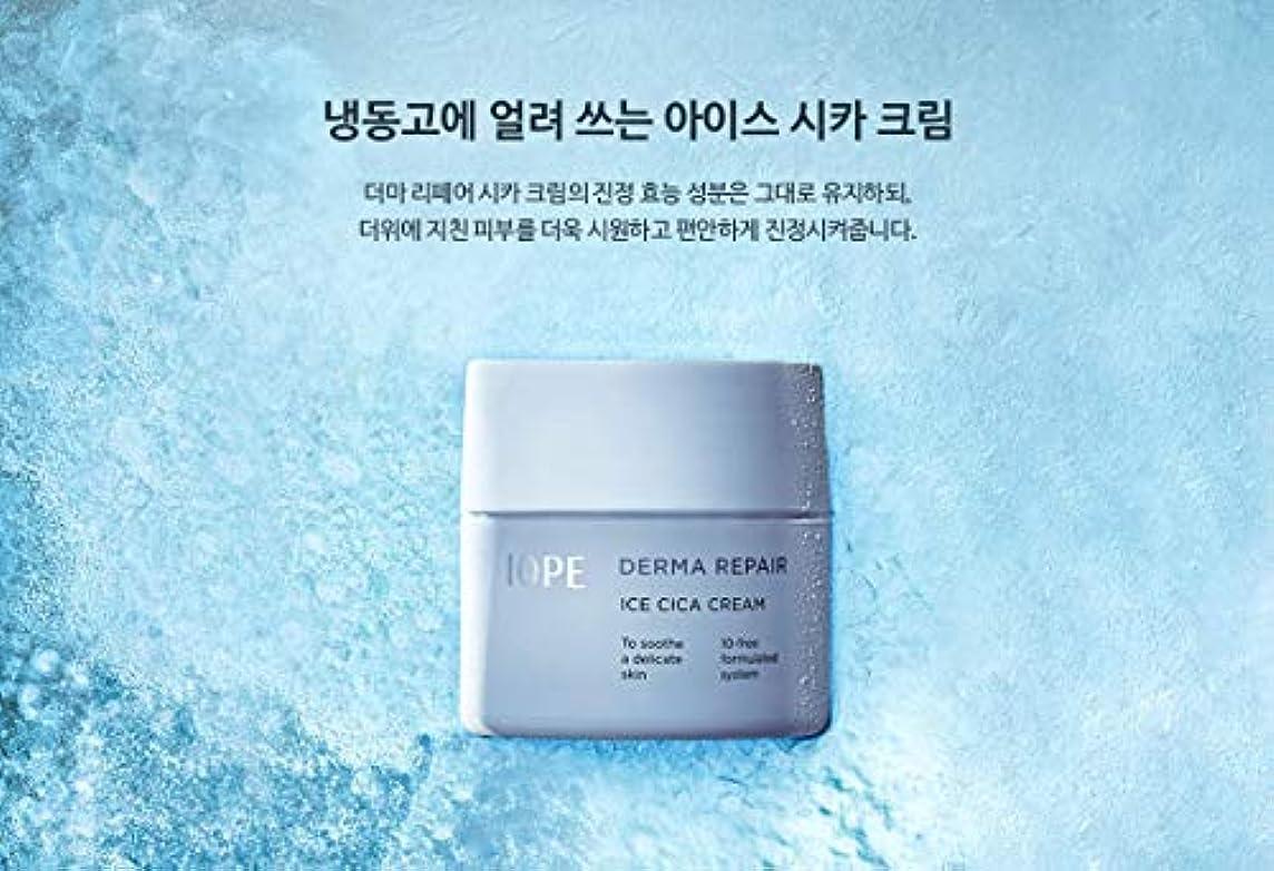 被る壊滅的なライバル【アイオペ.iope](公式)ダーマリペアアイスシカクリーム(50ml)(2019.05新発売)/ iope derma repair ice cica cream(50ml、2019.05 new)