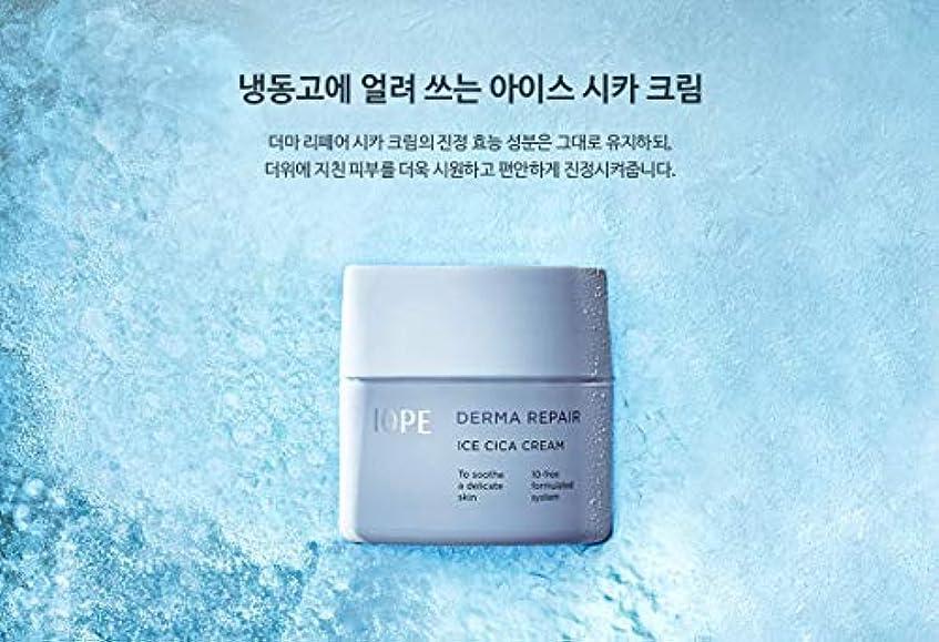 起きている樹皮溢れんばかりの【アイオペ.iope](公式)ダーマリペアアイスシカクリーム(50ml)(2019.05新発売)/ iope derma repair ice cica cream(50ml、2019.05 new)
