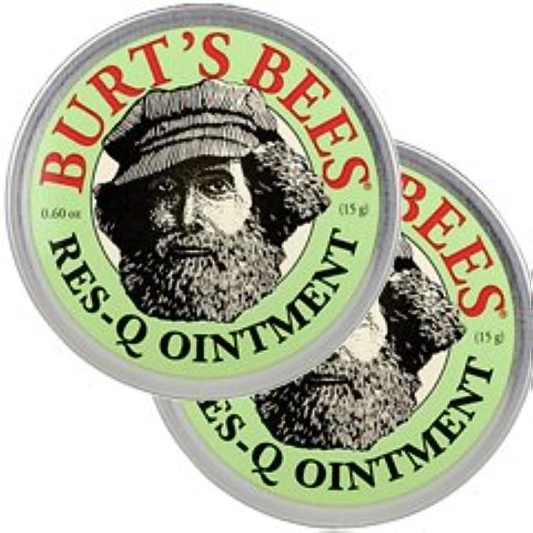 接触アフリカ人非常にバーツビーズ(Burt's Bees)レスキュー オイントメント 17g 2個セット[並行輸入品][海外直送品]