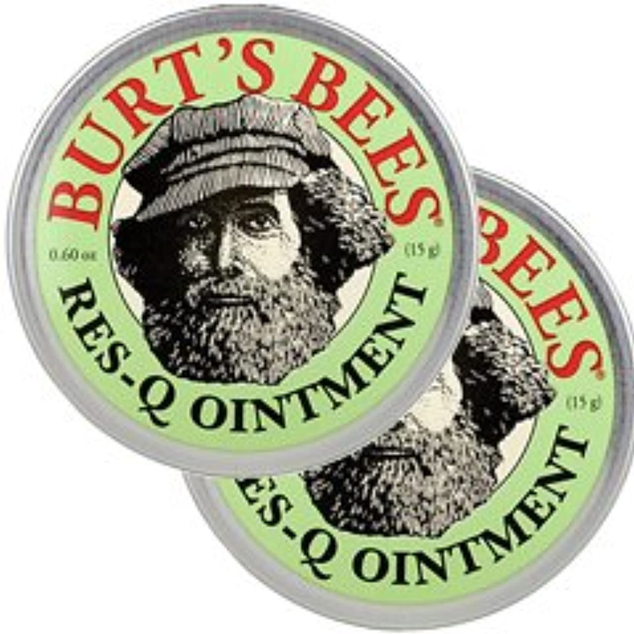 建築家毒液シングルバーツビーズ(Burt's Bees)レスキュー オイントメント 17g 2個セット[並行輸入品][海外直送品]