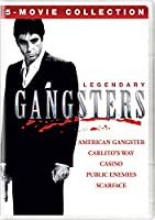 Legendary Gangsters: 5-Movie Collection (American Gangster/Carlito'sWay/Casino/Public Enemies/Scarface) [DVD]