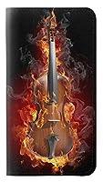 JPW0864GS9 火ヴァイオリン Fire Violin Samsung Galaxy S9 フリップケース