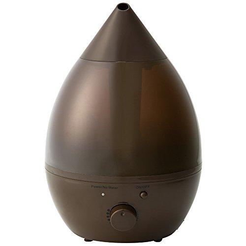 超音波式アロマ加湿器 LEDライト・アロマオイル対応・大容量...