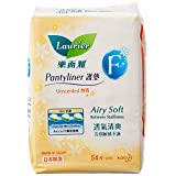 Laurier F Pantyliner Non-Perfumed, 54ct