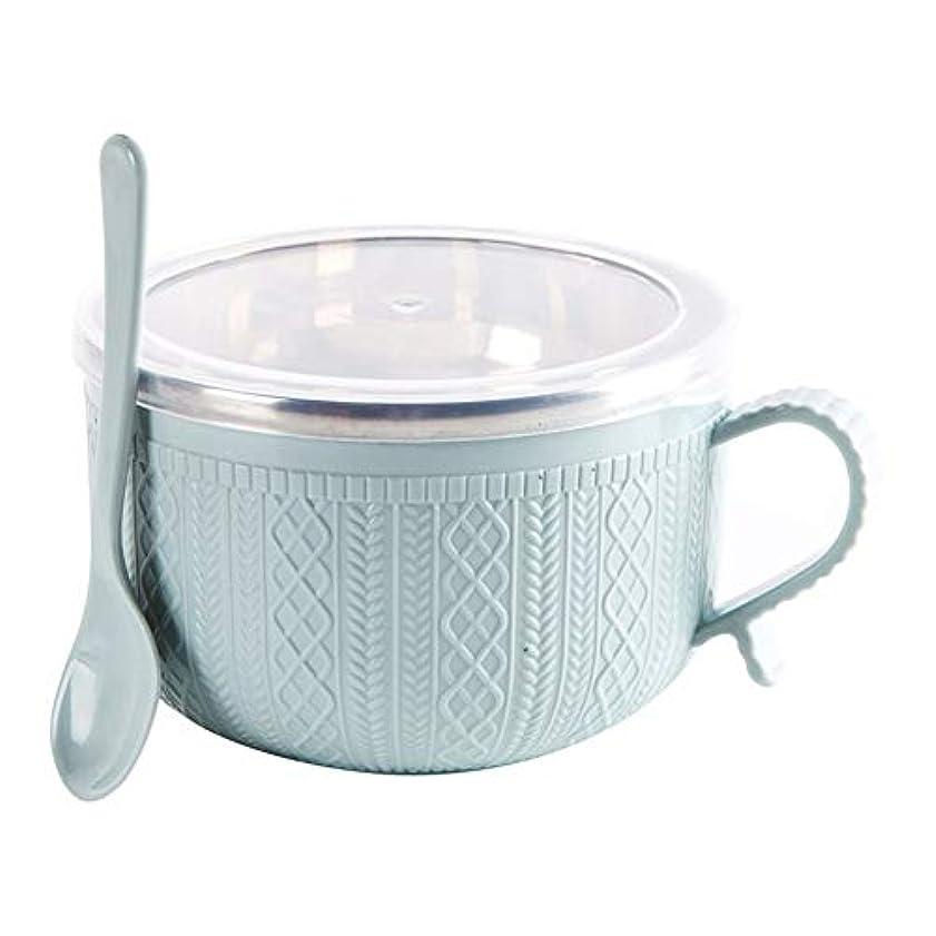 コストおめでとう組み立てるSnyme ステンレスふた付き スプーン インスタントラーメンライス 家庭用食器