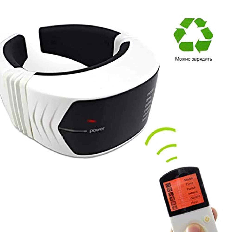 添加剤レーダーコンチネンタル首のマッサージャー、電気首のマッサージャー、頚部の苦痛を取り除く多機能の磁気療法の頚部マッサージャー